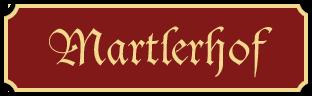 Ferienhaus Martlerhof Logo